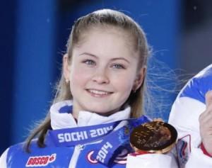 五輪=15歳のリプニツカヤ、「ソチ大会の顔」として注目