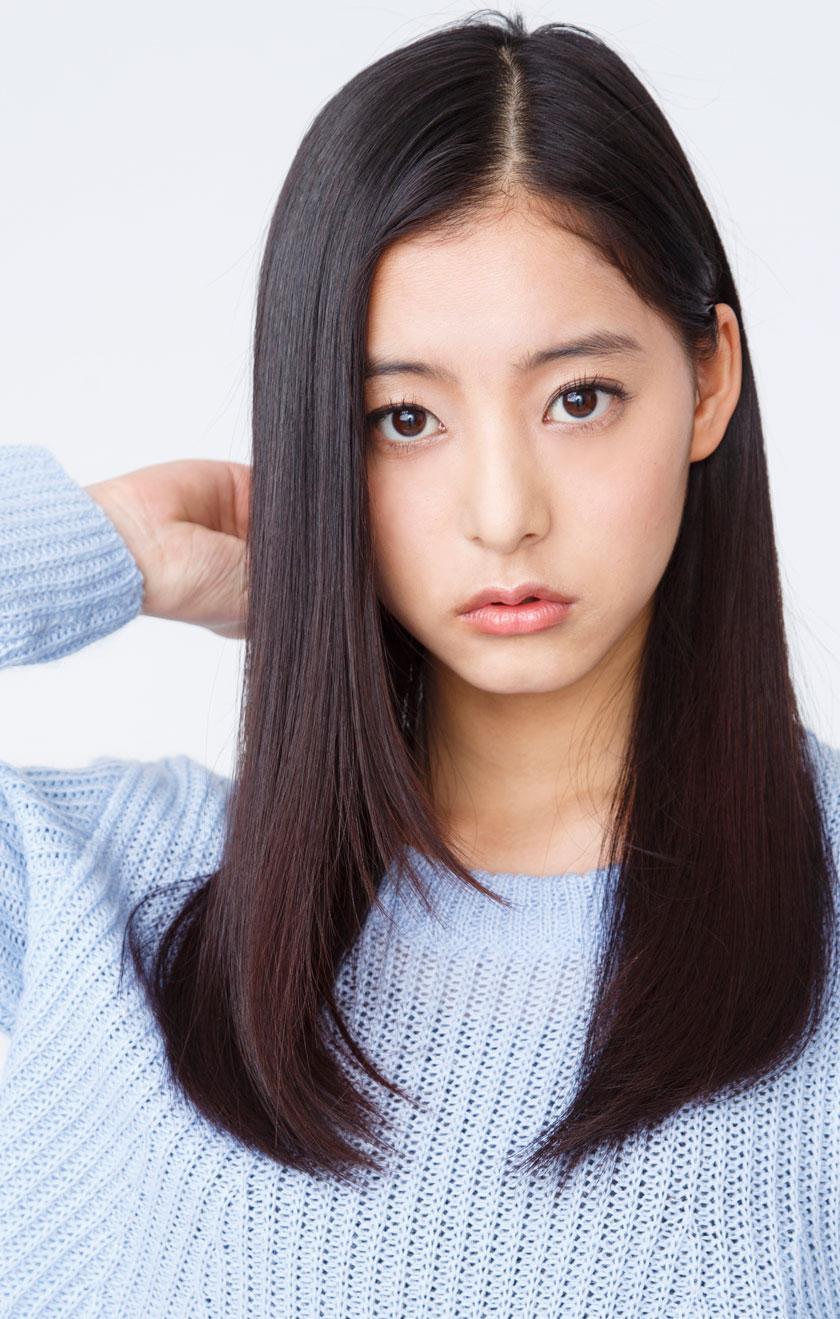 目が大きくてかわいい新木優子
