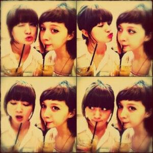 岡田ロビン翔子と姉:ストューカス・美香子