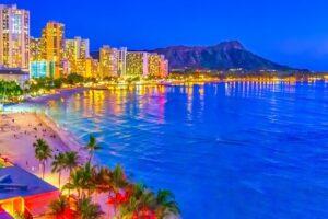 ハワイ:オアフ島のビーチ
