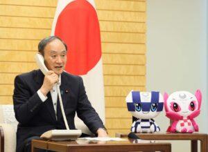 辞任を表明した菅義偉総理